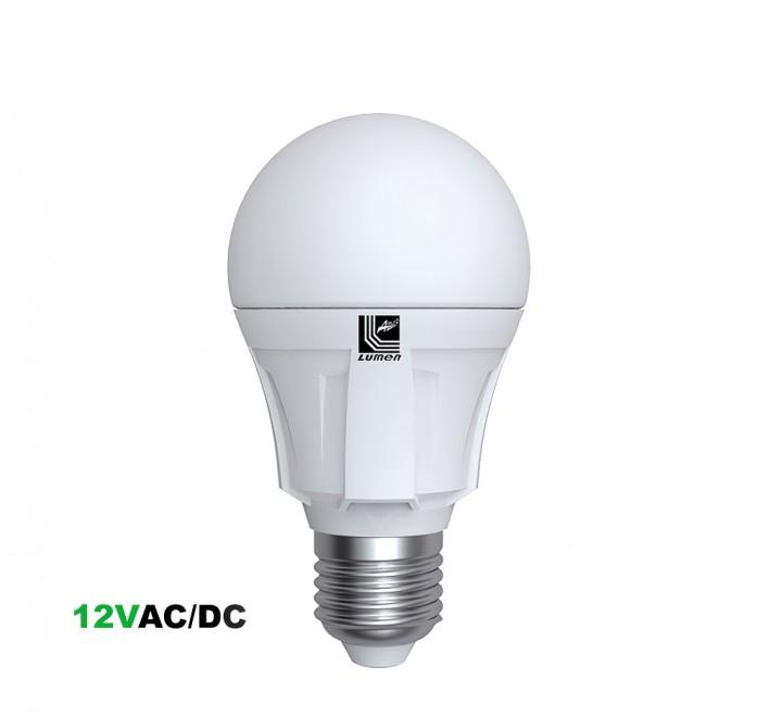 ΛΑΜΠΑ LED A60 Ε27 12W 1200lm 12V 4000K