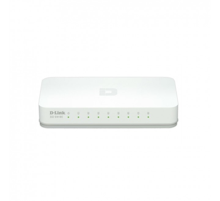 D-LINK SWITCH 8 PORT 10/100M FAST ETHERNET GO-SW-8E