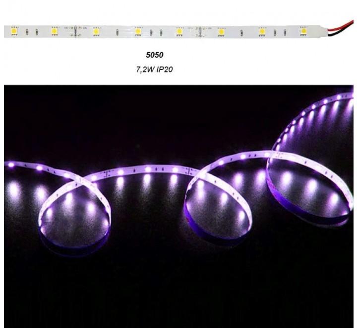 ΤΑΙΝΙΑ LED ΑΥΤΟΚΟΛΛΗΤΗ 7,2W/m 12V ΙΡ20 RGB
