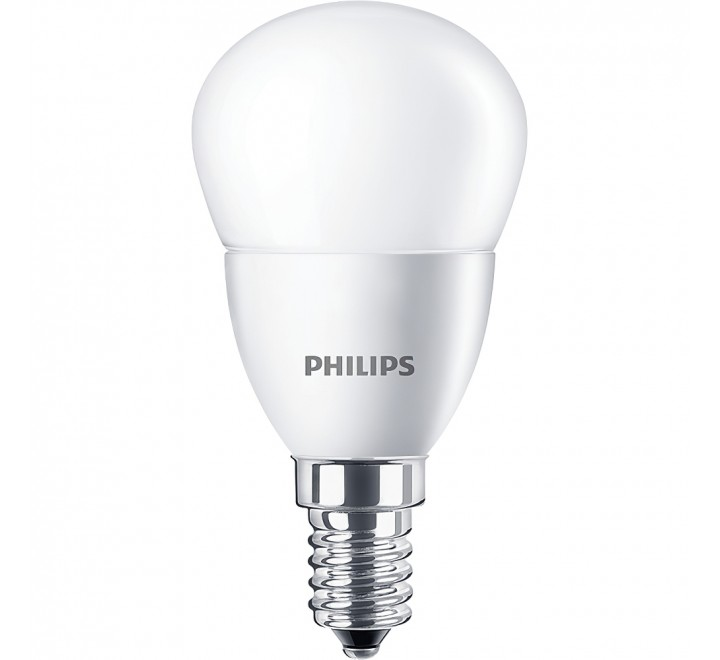 PHILIPS ΛΑΜΠΑ LED ΣΦΑΙΡΙΚΗ 5,5-40W 520lm P45 Ε14 4000K 543603