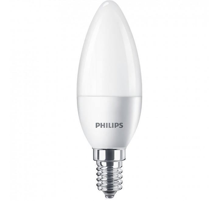 PHILIPS ΛΑΜΠΑ LED ΚΕΡΙ 5,5-40W 520lm B35 Ε14 6500K 746813