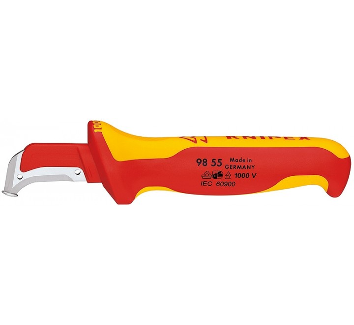 KNIPEX ΜΑΧΑΙΡΙ ΜΕ SΤΟΡ 1000V 180mm 9855
