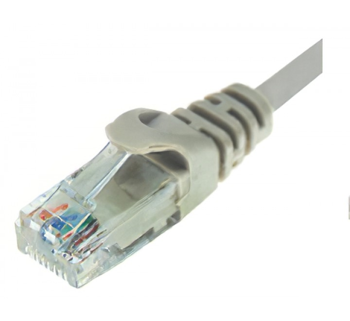 PATCH CORD UTP CAT-5e 2.00m ΓΚΡΙ