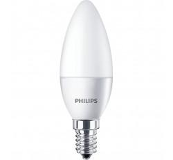 PHILIPS ΛΑΜΠΑ LED ΚΕΡΙ 5,5-40W 520lm B35 Ε14 4000K 543566