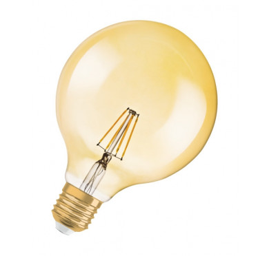 LEDVANCE OSRAM ΛΑΜΠΑ LED VINTAGE 1906 ΚΕΧΡΙΜΠΑΡΙ 7W 808997