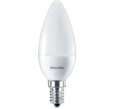 Philips Λάμπα Led Κερί 7-60W 830lm Β38 Ε14 4000K 703052