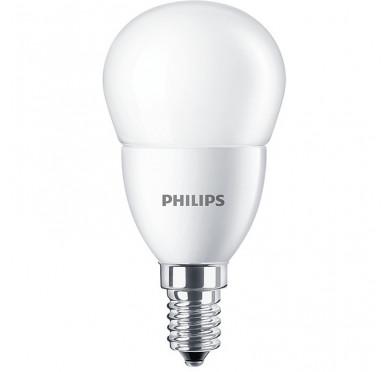 Philips Λάμπα Led Σφαιρκή Ματ 7.0-60W 830lm 4000K Ε14 703076