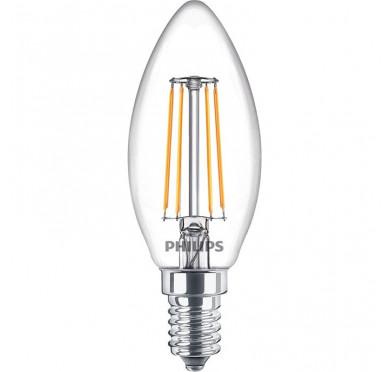 Philips Λάμπα Led Κερί 4.3-40W 470lm 2700K E14 808535