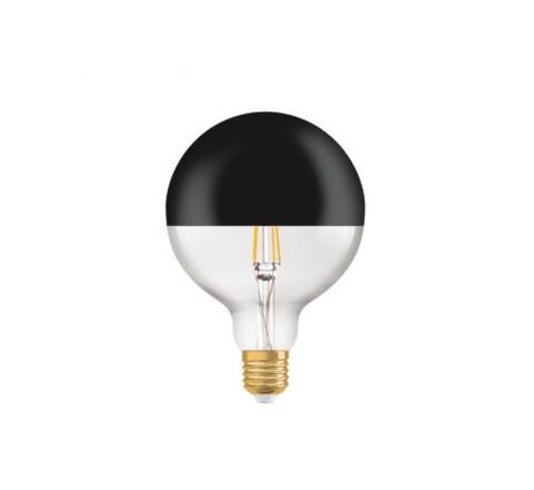 LEDVANCE OSRAM ΛΑΜΠΑ LED VINTAGE 1906 E27 MIRROR BLACK 7W 091931
