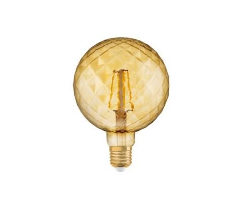 LEDVANCE OSRAM ΛΑΜΠΑ LED VINTAGE 1906 PINECONE GOLD 4,5W 092037
