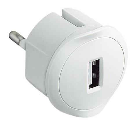 LEGRAND ΑΝΤΑΠΤΟΡΑΣ ΣΟΥΚΟ-USB 1,5A ΛΕΥΚΟ 050680