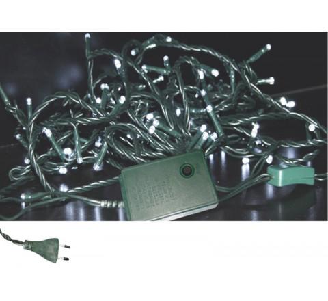 ADELEQ ΧΡΙΣΤΟΥΓΕΝΝΙΑΤΙΚΑ 180 ΛΑΜΠΑΚΙΑ LED ΨΥΧΡΟ ΦΩΣ ME CONTROLLER 10.5m ΙΡ20 30-08518030