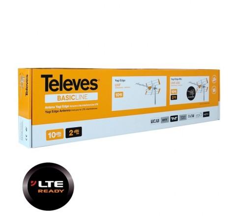 """TELEVES LTE ΚΕΡΑΙΑ """"V"""" YAGI 10dB 111942"""