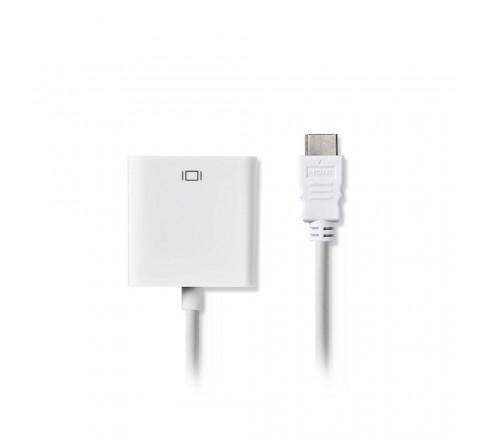 ΜΕΤΑΤΡΟΠΕΑΣ HDMI ΣΕ VGA ΚΑΙ 3.5mm JACK ΓΙΑ ΗΧΟ 0.20m CCGP34900WT02