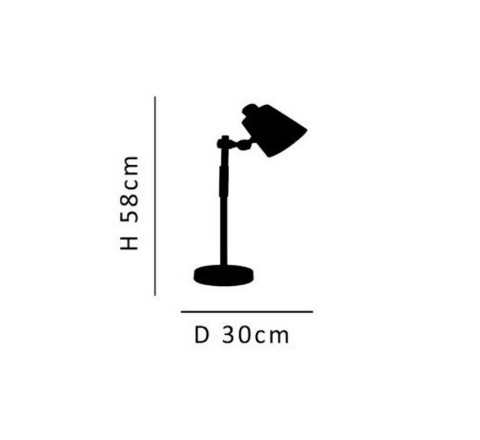 HOME LIGHTING ΦΩΤΙΣΤΙΚΟ ΓΡΑΦΕΙΟΥ ΜΕΤΑΛΛΟ ΚΑΙ ΞΥΛΟ SAM 77-4495