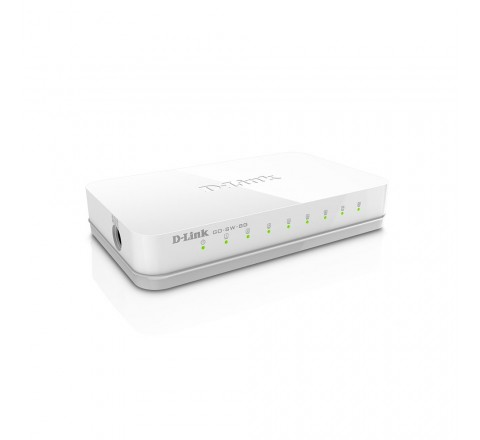D-LINK SWITCH 8 PORT 10/100/2000M GIGABIT ETHERNET GO-SW-8G