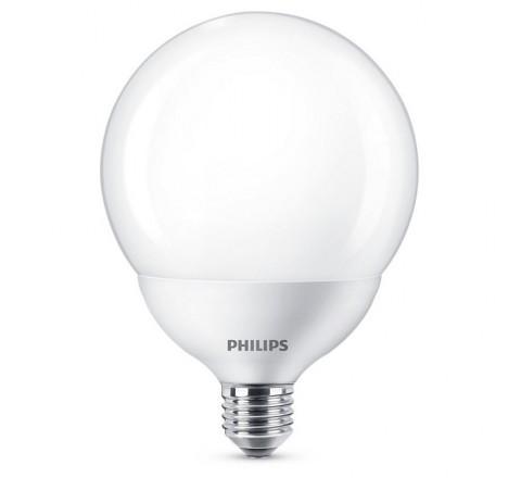 PHILIPS ΛΑΜΠΑ LED ΓΛΟΜΠΟΣ 10.5-75W 1055lm E27 865 742990