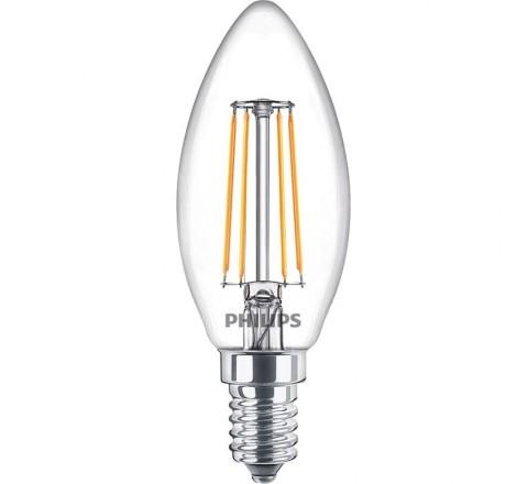 PHILIPS ΛΑΜΠΑ LED ΚΕΡΙ 4.3-40W 470lm 2700K E14 808535