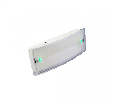 OLYMPIA ELECTRONICS ΦΩΤΙΣΤΙΚΟ ΑΣΦΑΛΕΙΑΣ LED 1,5h IP42 GR-8/leds