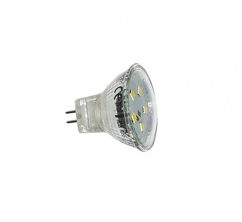 ΛΑΜΠΑ LED MR11 G4 2W 240lm 12V 6200K