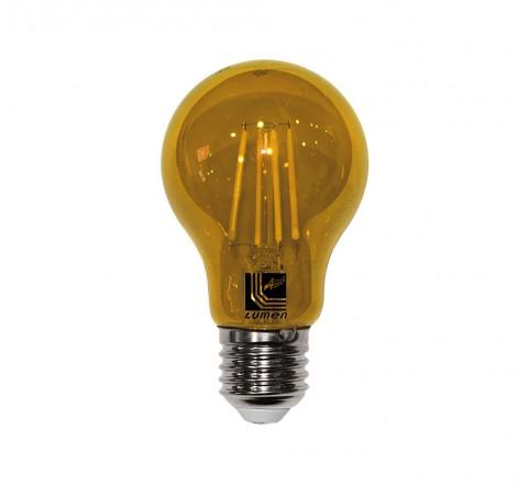 ΛΑΜΠΑ LED A60 E27 6W 230V ΠΟΡΤΟΚΑΛΙ FILAMENT