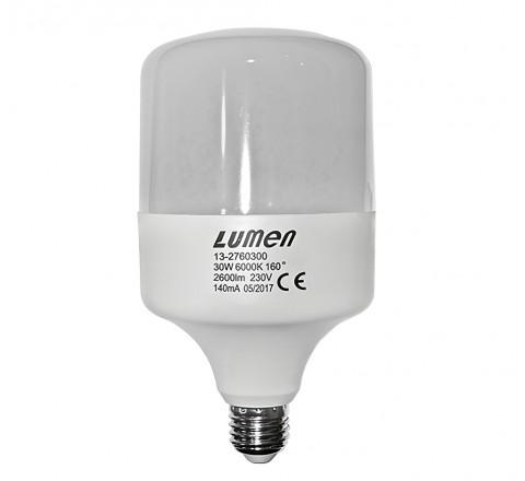 ΛΑΜΠΑ LED ΤΥΠΟΥ SL Ε27 30W 2600lm 230V 6000K IP54