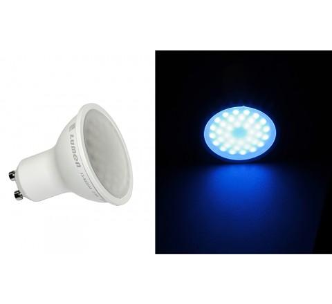 ΛΑΜΠΑ LED GU10 2,5W 230V ΜΠΛΕ