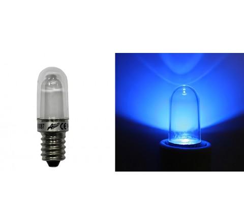 ΛΑΜΠΑΚΙ LED Ε14 0,5W 230V ΜΠΛΕ ΦΩΣ