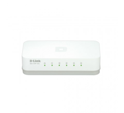 D-LINK SWITCH 5 PORT 10/100M FAST ETHERNET GO-SW-5E