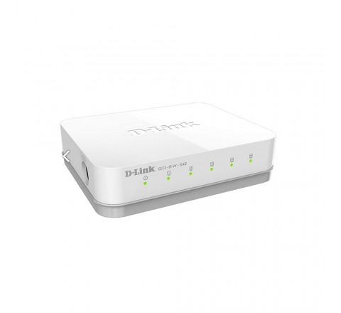 D-LINK SWITCH 5 PORT 10/100/2000M GIGABIT ETHERNET GO-SW-5G