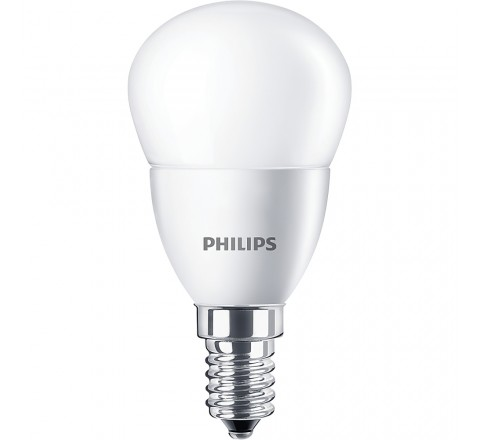 PHILIPS ΛΑΜΠΑ LED ΣΦΑΙΡΙΚΗ 5,5-40W 470lm P45 Ε14 2700K 474891